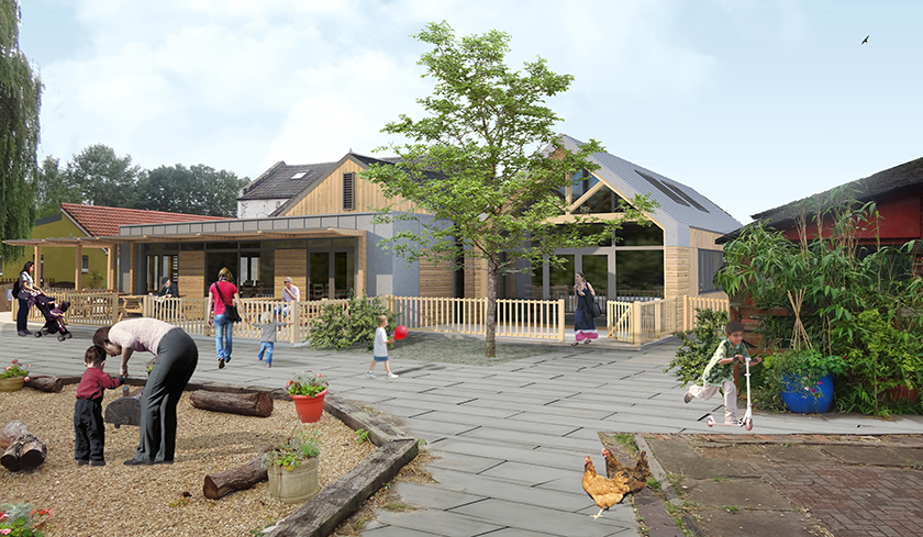 Windmill Hill City Farm expansion | click to enlarge