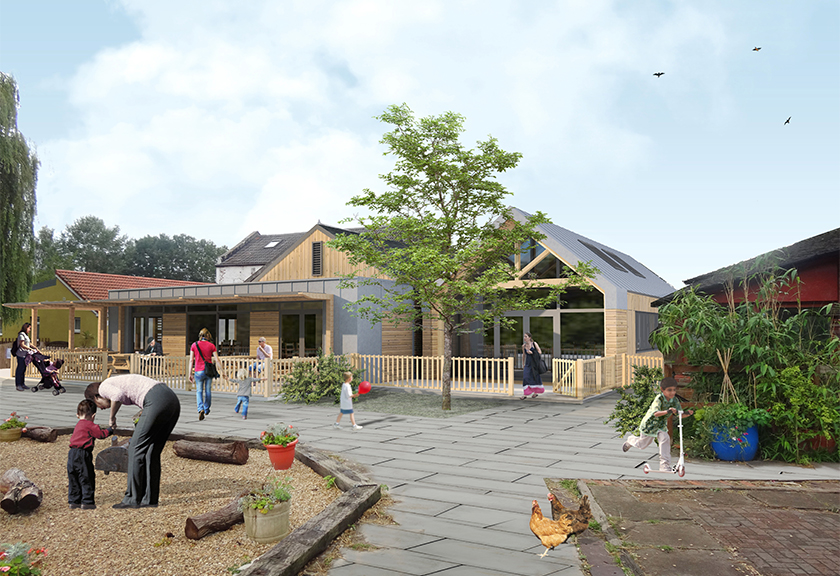 Windmill Hill City Farm expansion | click for more