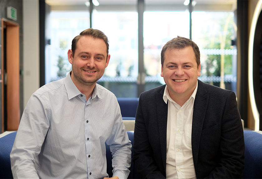 Childs+Sulzmann board directors Matt Parsons and Mike Cox | click for more