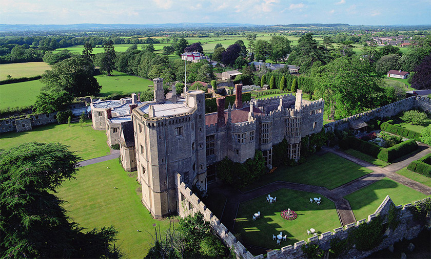 Thornbury Castle planning permission gets the go ahead, South Gloucestershire