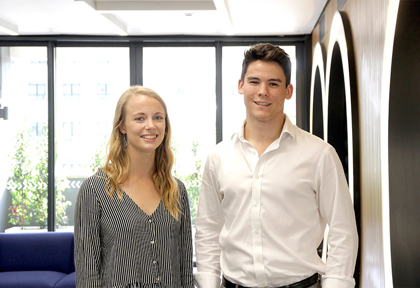 Zoe Day (left) and George Matthews (right) join the Childs+Sulzmann Bristol team | click for more
