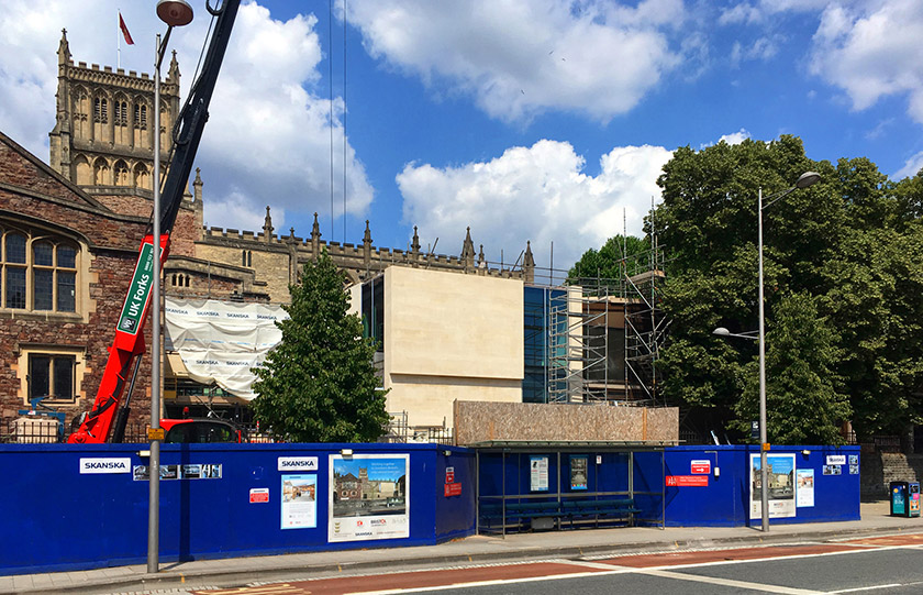 Bristol Cathedral Choir School begins to unveil