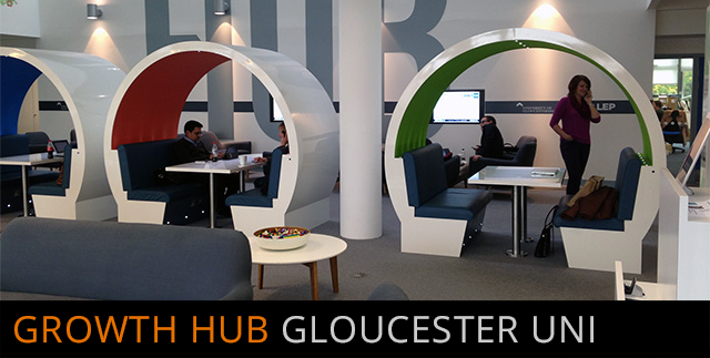 Growth Hub, Gloucester University | click for more