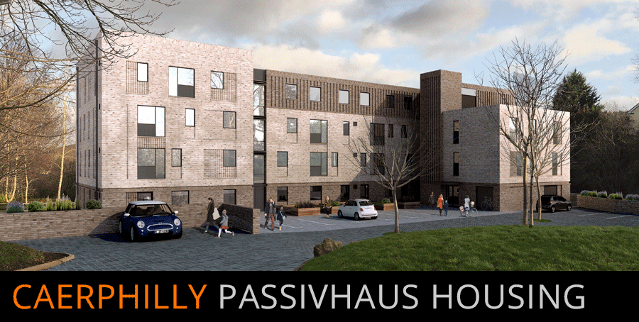 Caerphilly Passivhaus Housing | click to enlarge