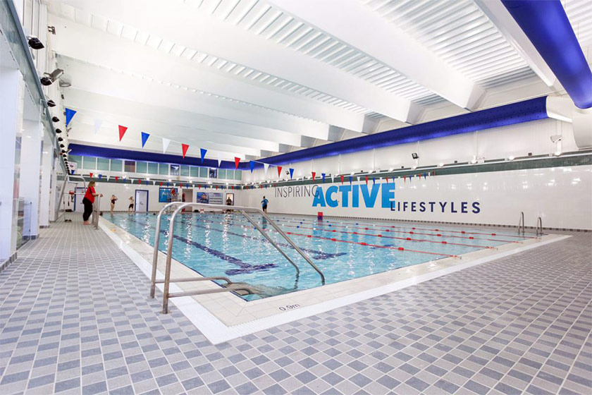Yate Leisure Centre swimming pool | click to enlarge